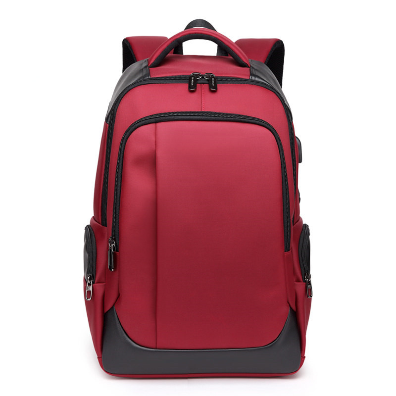 Nesitu High Quality Waterproof Large Oxford Black Red 14 15.6 Laptop Men Women Backpacks Male Female Travel School Bag M1283Nesitu High Quality Waterproof Large Oxford Black Red 14 15.6 Laptop Men Women Backpacks Male Female Travel School Bag M1283