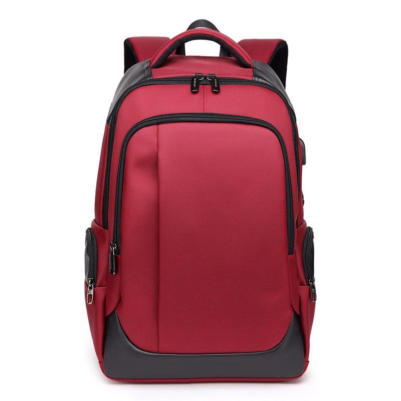 Nesitu คุณภาพสูงกันน้ำ Oxford ขนาดใหญ่สีดำสีแดง 14 ''15.6'' แล็ปท็อปผู้ชายผู้หญิงกระเป๋าเป้สะพายหลังชายหญิงกระเป๋าเดินทางกระเป๋า M1283-ใน กระเป๋าเป้ จาก สัมภาระและกระเป๋า บน AliExpress - 11.11_สิบเอ็ด สิบเอ็ดวันคนโสด 1