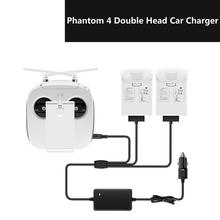 цена на DJI Phantom 4 Pro Advanced Drone 3 in 1 Car Charger 4A Intelligent Battery Remote Control Travel Outdoor Charger Fast Charger