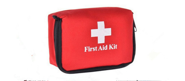 Shenzhen Chenxingying Trading Co.,Ltd 150pcs First Aid Kit 0.7L Red Camping Emergency Survival Bag Bandage Drug Waterproof only the bag