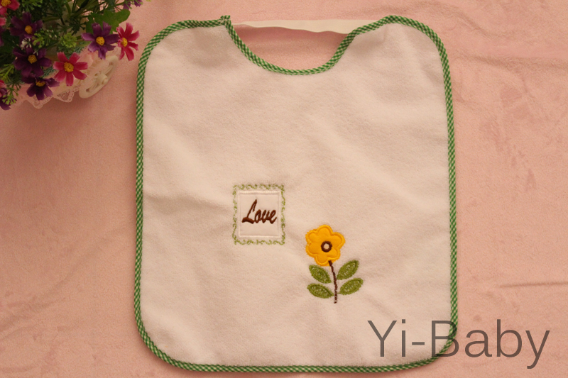 YB0020-03 Infant saliva towels Baby bib Baby waterproof  bib Burp Cloths 12PCS/Set Free shipping