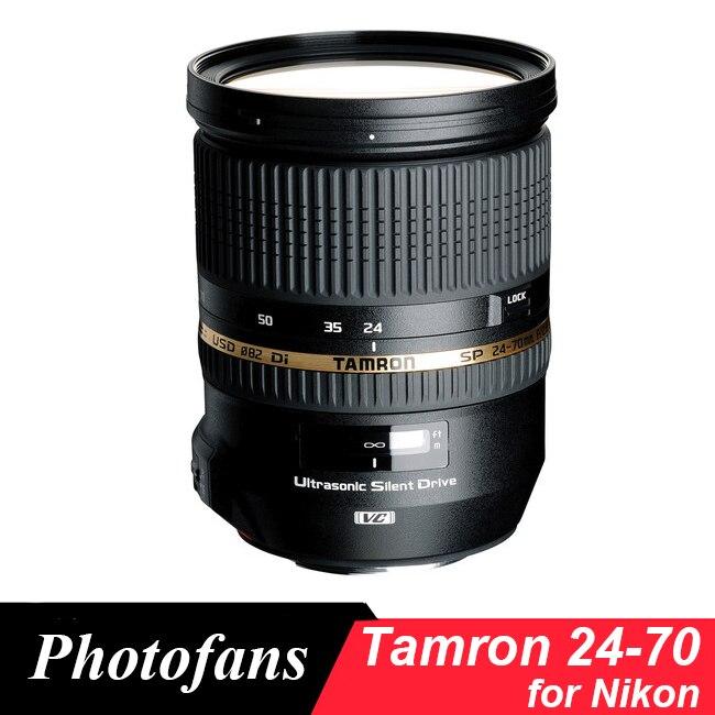 Tamron SP 24-70mm f/2.8 di VC USD lente para Nikon (A007)