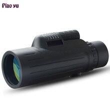 Buy Original Piao Yu 10×42 Monocular Zoom Optic Lens High Power Waterproof Telescope For Hunting Best Outdoor Spotting scope
