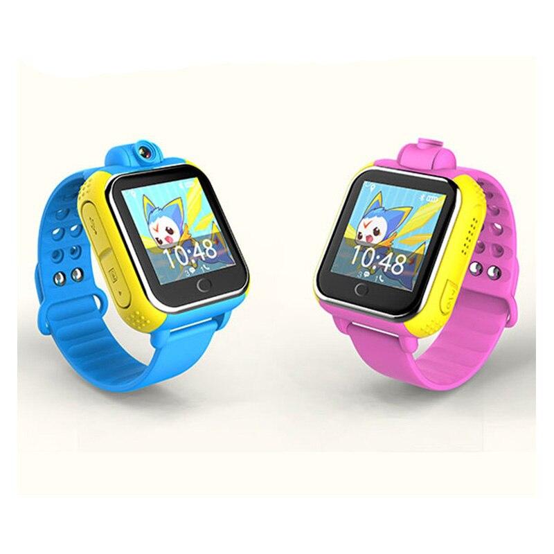 Enfants GPS suivi montre écran tactile location moniteur montre intelligente enfants SOS appel Finder Tracker pour enfants sûr GPS montre