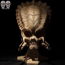 P-Flame Predator VS Alien Skull Sideshow Classic Predator Skull Prop Replica Simulation Model For Collection Direct Sales