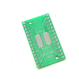 Image 2 - 500 PCS TSSOP28 SSOP28 SOP28 SMD to DIP28 IC Adapter แปลงโมดูลอะแดปเตอร์แผ่น 0.65 มม. 1.27 มม. รวม