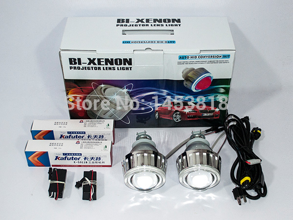 2.8HQT 35W Projector Lens Headlight kit Slim Ballast 9004 9005 9006 9007 H1 H7 H4 H11 G5 2.8 inch HID Bixenon Projector Lens free shipping iphcar car styling hid xenon h1 h7 h11 9004 9005 9006 9007 bulb kit 35w hid light kit with slim ballast
