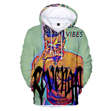 Hot rapper XXXTentacion 3D Print Hoodies Sweatshirt Mens  Leisure Comfortable Hooded Couple Harajuku streetwear