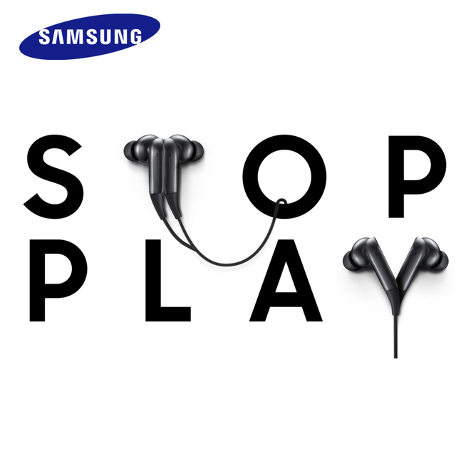 SAMSUNG LEVEL U PRO ANC  Noise Cancelling Sport Earphone Bluetooth 4.1 Collar In-Ear Wireless Support for  s8 s8+ s9  s9+