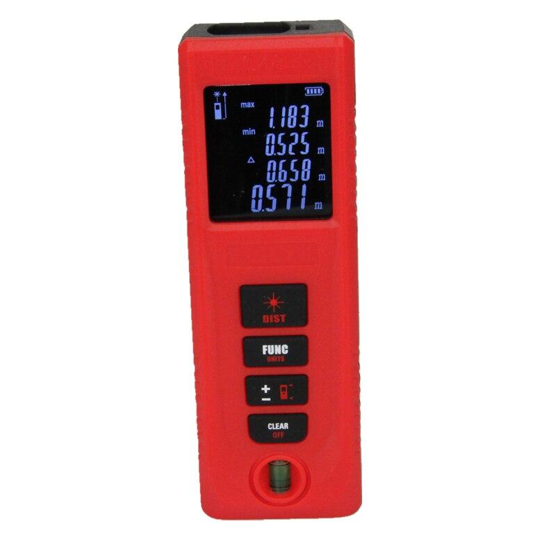Digital Laser Distance Measuring Meter Sensor Measure Tool Handheld 40m 60m 100m Tape Rangefinder Dust Protect Splashproof IP54  лазерный дальномер mini desktop laser tracing measuring tape