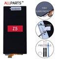 Allparts original em preto branco 5.2 polegada display para sony xperia E6603 E6683 Z5 LCD Display LCD de Tela de Toque com Quadro digitalizador