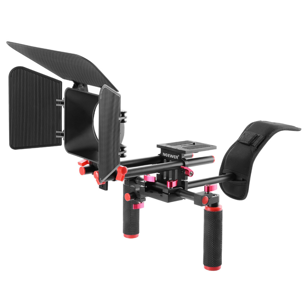 Neewer Camera Movie Video Making Rig System Film-Maker Kit For Canon/Nikon/Sony/Other DSLR Cameras, DV Camcorders