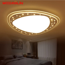 Modernas Lámparas de Techo Led Para Dormitorio Sala de estar Montado En Superficie Regulable lamparas de techo Bolas de Cristal Lámparas de Techo Deco