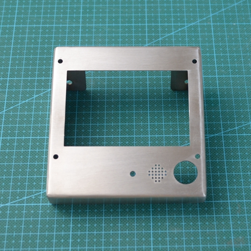 A Funssor LCD2004/LCD12864 display controller stainless steel casing holder protective cover Reprap 3D printer DIY accessories pl50 lcd