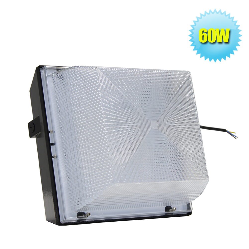 Commercial Outdoor Ceiling Lighting Fixtures: Free Shipping Flat Outdoor LED Canopy Fixture Light 5400Lm
