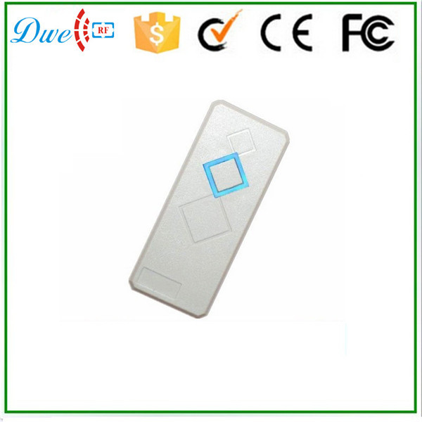DWE CC RF Free shipping +Waterproof Door Access Control ID Card Reader, Wiegand 26  RFID 125KHz ISO EM4100 and compatible metal rfid em card reader ip68 waterproof metal standalone door lock access control system with keypad 2000 card users capacity