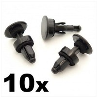 10x Scuttle Panel / Lower Windscreen Trim Clips for some Honda Cars- 91508SM4003