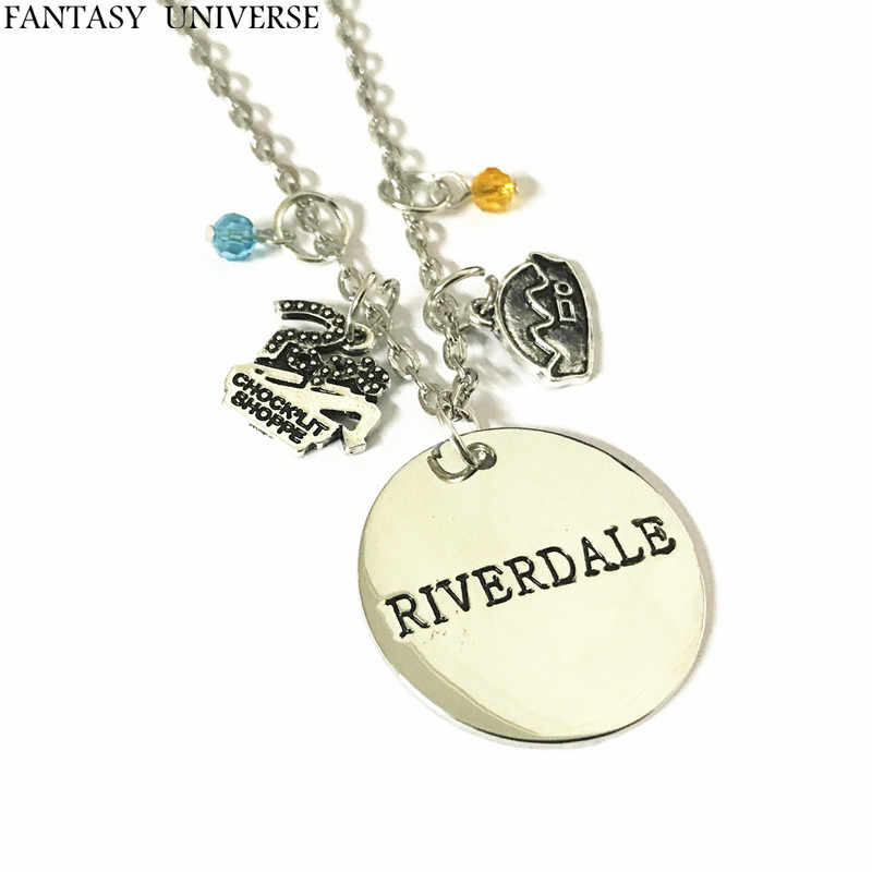 FANTASY UNIVERSE Free shipping 1pcs Riverdale charm necklace NFHNESJ01