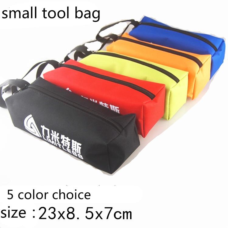 piiramatu väike tööriistakott Trompetiparanduskomplekt kaasaskantav riistvara tööriistade hoiustamiseks varuosade tasku 5 värvivaliku kodukassi