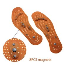 1Pair Unisxe Insoles Magnetic Therapy Magnet Posture Corrector Insoles for Men/ Women Shoes Comfort Pads Wear resisting Z50401