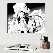 One Punch Man Anime Canvas Painting Prints Wall Pictures For Living Room Home Decor Modern Wall Art Oil Painting Posters Picture цена