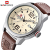 2017 Luxury Brand NAVIFORCE Men Military Sports Watches Men S Quartz Date Clock Man Casual Leather