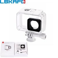 LBKAFA For XIAOYI Camera Accessories And Parts Waterproof Case Diving 40m Waterproof For Original Xiaomi YI
