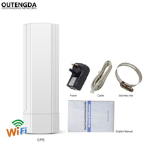 3KM Long Range Outdoor CPE AP WiFi Router 2.4GHz 300Mbs Wireless Wi-Fi Repeater Access Point Wifi Extender Bridge Client Router