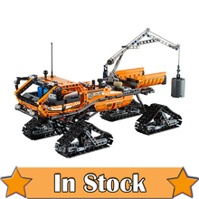 New 913pcs Lepin 20012 Technic Series Mechanical Group The Polar Adventure Vehicle Building Blocks Bricks Set Toys 42038