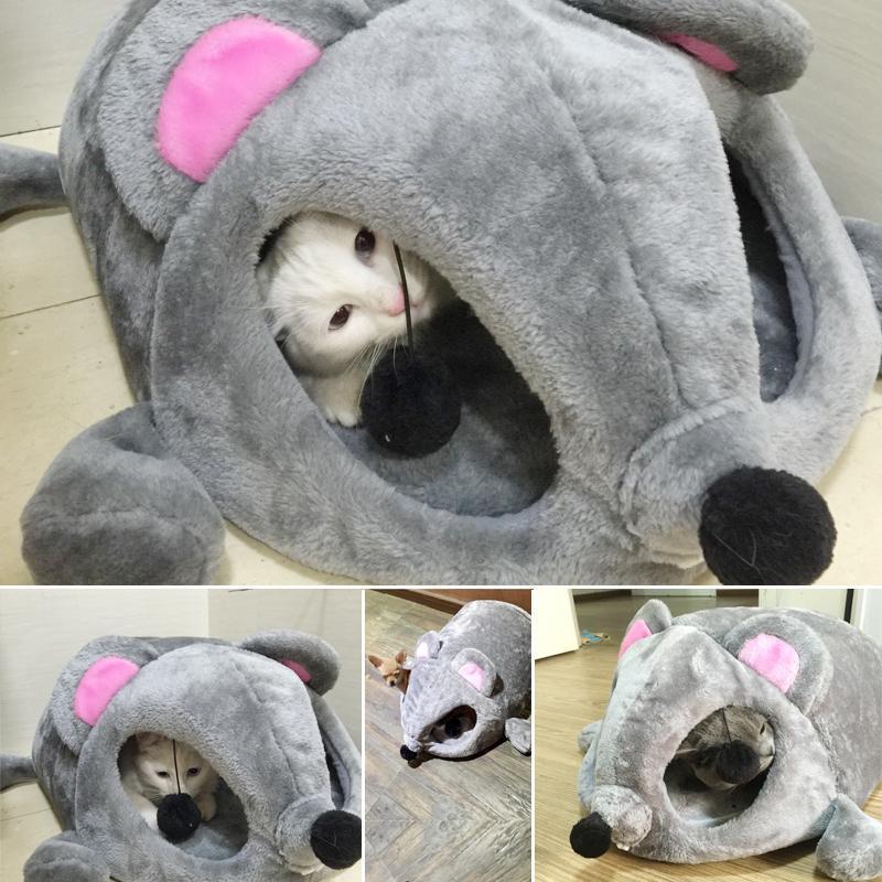 Compra la cueva del gato cama online al por mayor de china - Cama para gato ...