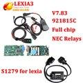 Lexia3 V48 PP2000 diagbox с 921815C V7.83 Peuge0t прошивки для Citroen Диагностический Инструмент pp2000 с полной чип + S1279 Кабель