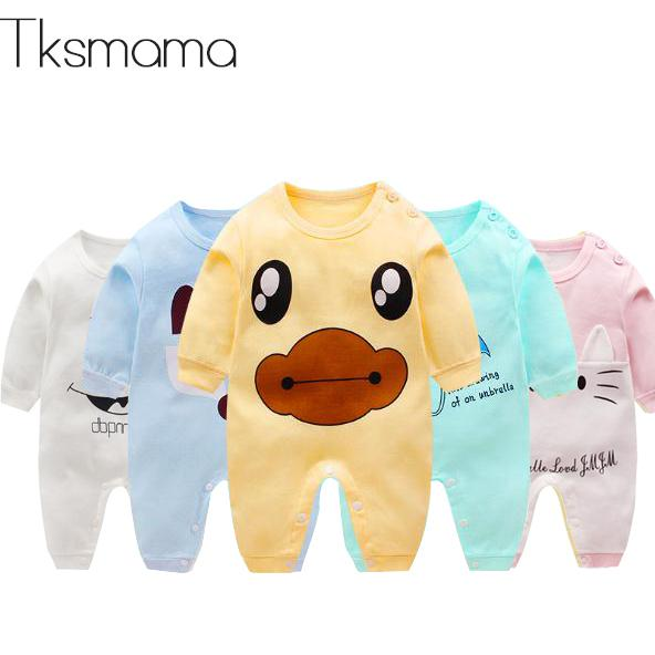 Newborn Baby Boy Clothes Cotton Long Sleeve Rompers Baby Winter Clothes Onesie Outfits ZJS00016