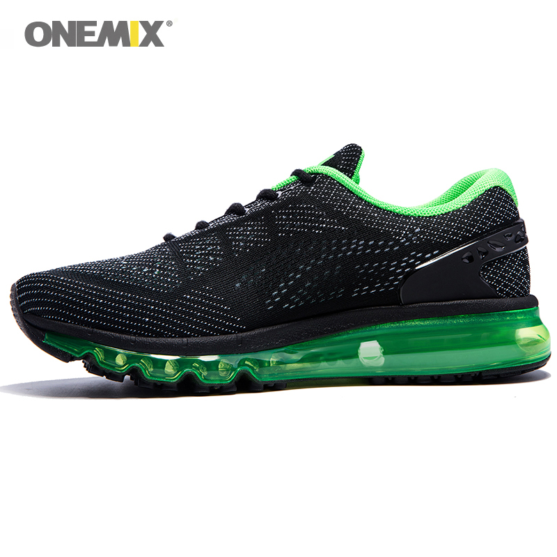 Onemix Men Women Air Running Shoes for Men Air Brand 2017 outdoor sport sneakers male athletic