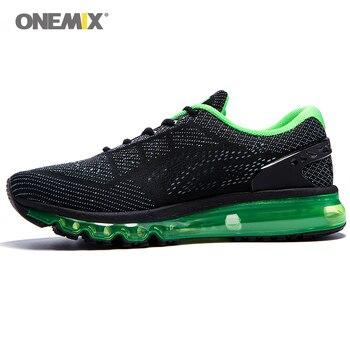 9c9b1b4882cad Onemix Erkek Kadın Hava koşu ayakkabıları Erkekler Hava Marka 2017 açık spor  ayakkabılar erkek spor ayakkabı için nefes zapatos de hombre