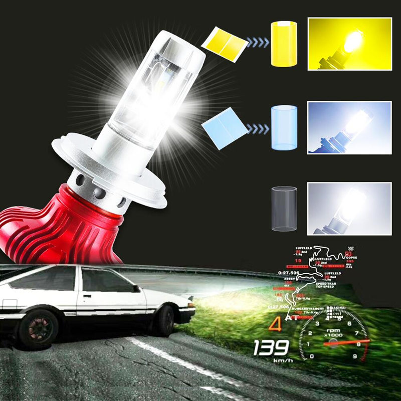 ZES led Headlight Bulbs Lamp for Auto H7 H4 H11 Car Lights LED 6500K 12000Lm Headlamp Bulb Lamps Car Light Accessories Styling car lights led 6000k 8000lm cob headlight bulbs lamp for auto h7 h1 h11 h4 headlamp bulbs lamps car light accessories styling