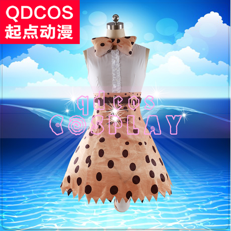 Hot! Kemono Friends Serval  Cosplay shoes costom made