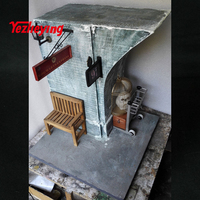 1/6 scale Harry Potter nine and three quarters platform scene suitable for 12 inch Action Figure Toy Accessories