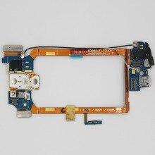 Oudini Voor LG G2 D802 Dock connector oplader poort USB flex kabel Hoofdtelefoonaansluiting Microfoon Power on/off Knop d802 USB kabel