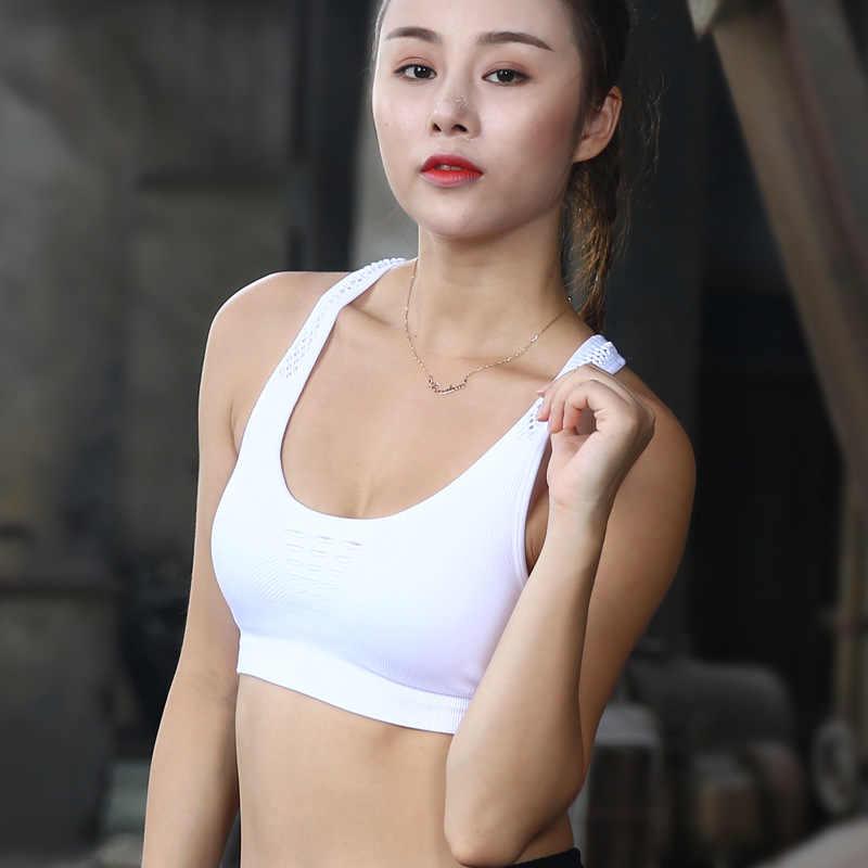 2018 Women Sports Bra High Impact for Fitness Running Pad Cropped Top SportsWear Tank Tops Sports Push Up Bra Women SYB011