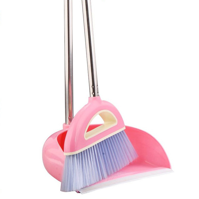 Charming New Arrival Broom Dustpan Set Plus Thickening Anti Skid Broom Applies To  Office Kitchen High