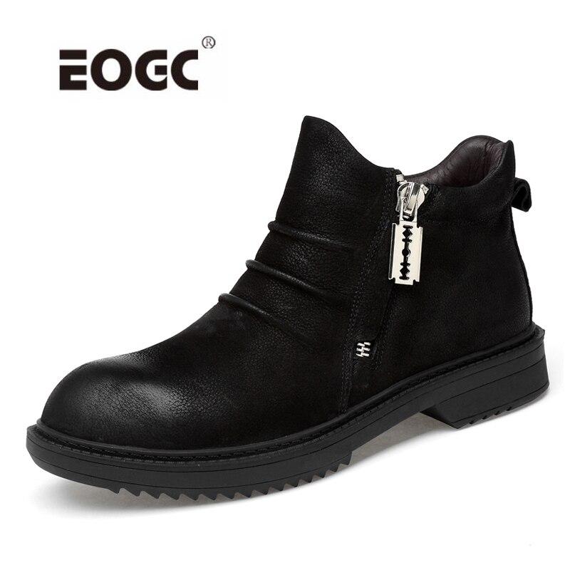 Black Fur Grande Chaussures Livraison Avec Chaud Fur No Taille 1 black Cuir VéritableHomme Garder Neige D'hiver Fourrure Au 2 Directe 3 De Bottes 4 Hommes QdeWrxoEBC