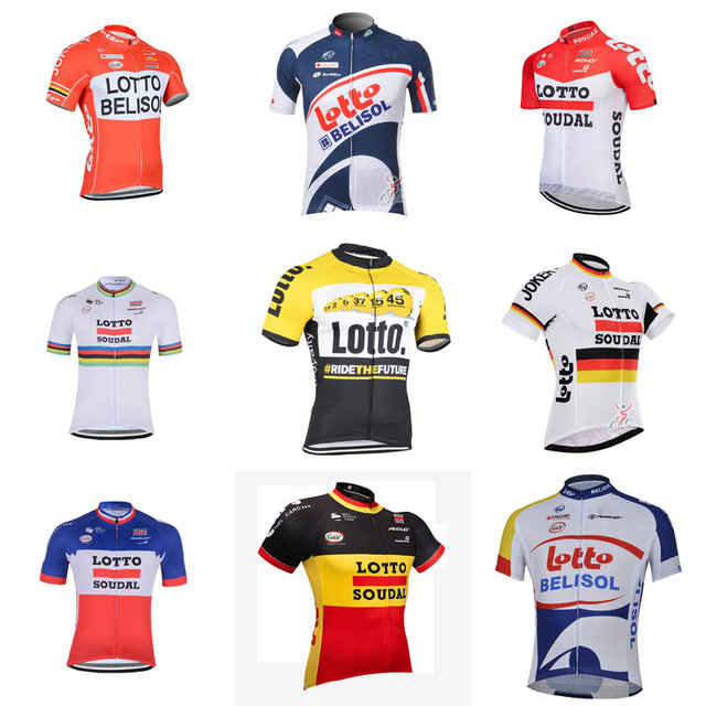 e0bb7e67a 2018 LOTTO team Cycling Clothing short sleeve Breathable Cycling jersey MTB  bike shirt Ropa Ciclismo bicycle Sportswear G0910