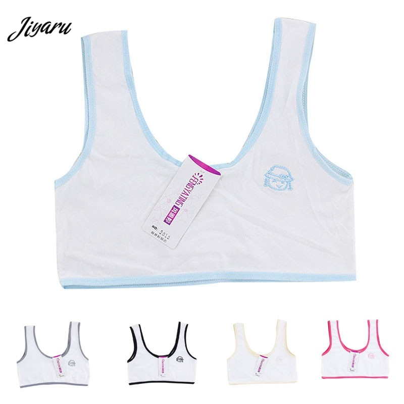 8062f9e8c31b9 New Youth Teenage Puberty Girls Underwear Teen Child Fitness Bras Small  Breast Bras Young Girls First