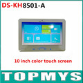 Indoor Video Intercom DS-KH8501-A with 10'' Color Touch Screen 8 Access 0.3MP Camera TF Card Up to 128G
