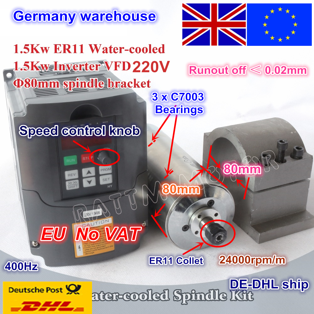 small resolution of from eu free vat 1 5kw water cooled spindle motor 220v er11