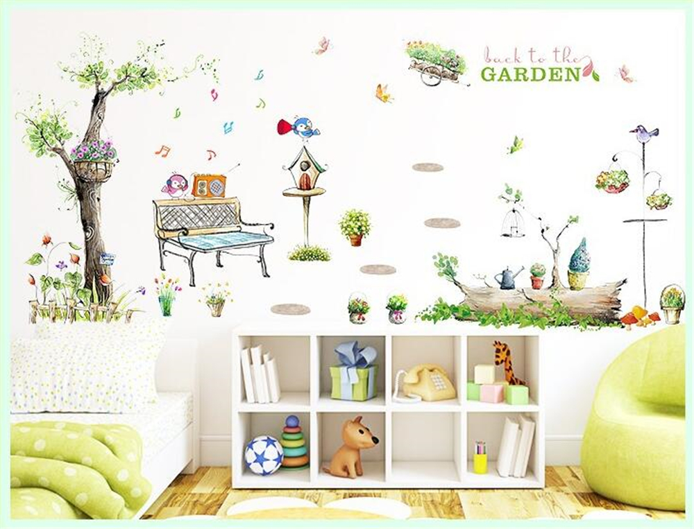 popular nursery wall murals buy cheap nursery wall murals nursery wall decal for kids bedroom diy cheap wall