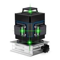 Лазерный уровень 16 линий зеленая линия 3D самонивелирующийся 360 горизонтальный и вертикальный супер мощный лазерный уровень Зеленая лазерн