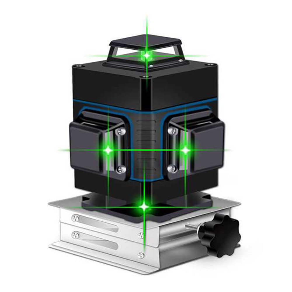 Laser Level 16 lines green line 3D Self Leveling 360 Horizontal And Vertical Super Powerful Laser level green Beam laser level
