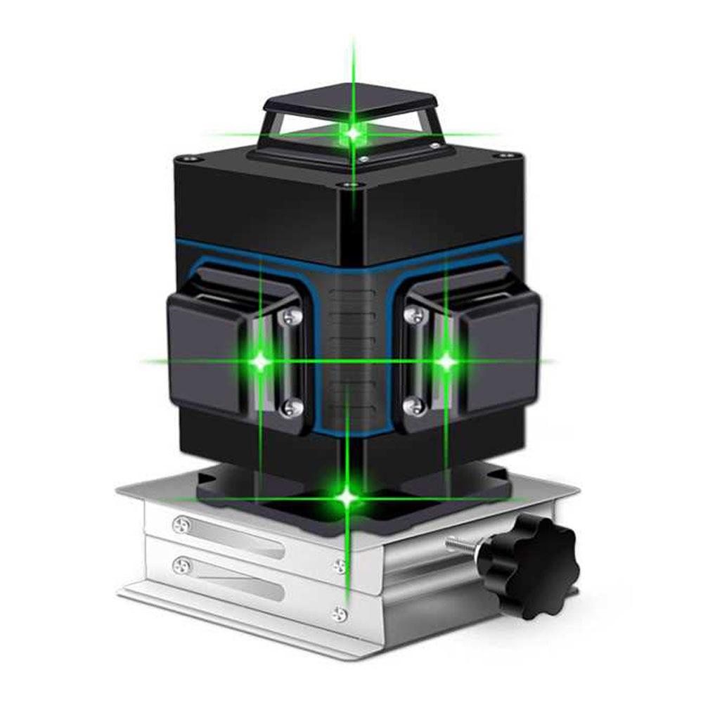 Лазерный уровень 16 линий зеленая линия 3D самовыравнивание 360 горизонтальный и вертикальный супер мощный лазерный уровень Зеленая лазерная уровень