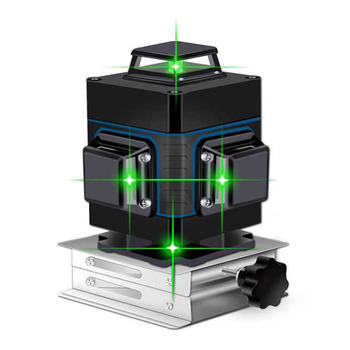 Laser Level 16 lines green line 4D Self-Leveling 360 Horizontal And Vertical Super Powerful Laser level green Beam laser level leter 12lines 3d laser level 360 laser electronic leveling laser beam line